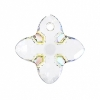 Swarovski Pendant 6868 Cross Tribe 24mm Crystal Aurora Borealis 1Pc
